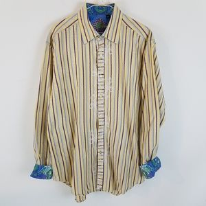 Robert Graham Men's button down shirt. Siz…